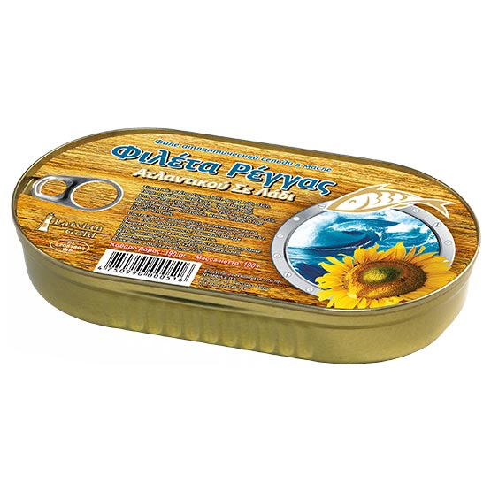 Herring fillets in oil 190g (EO)