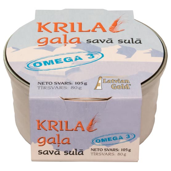 Natural krill 100g (EO)