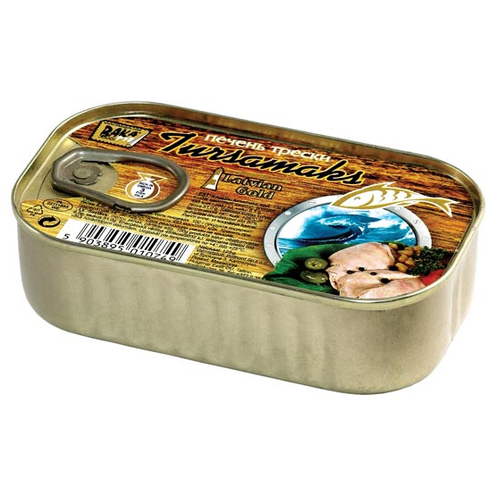 Smoked cod liver 120g (EO)