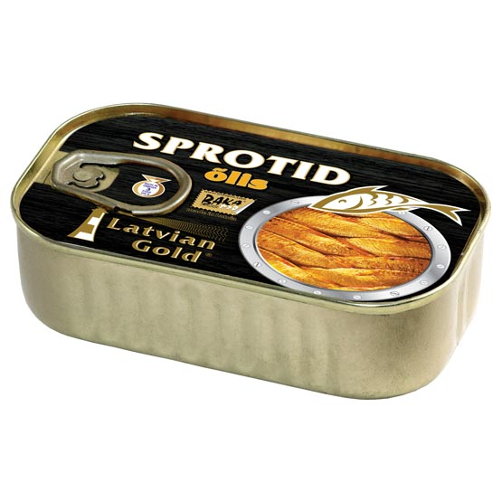 Sprats in oil 120g (no logistics)