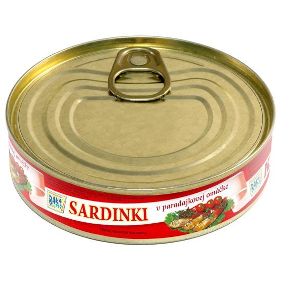 Little sardines in tomato sauce 160g (EO/noEO)