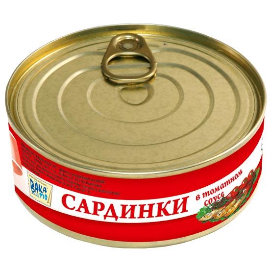 Little sardines in tomato sauce 240g (EO/noEO)