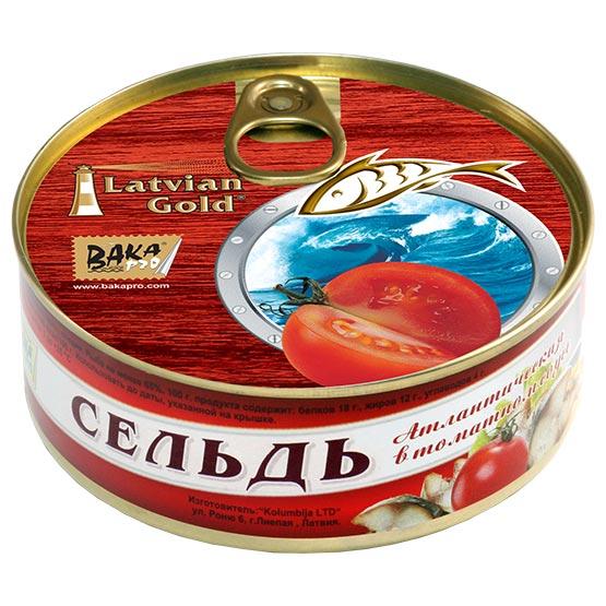 Herring in tomato sauce 240 g (EO/noEO)